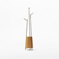 【FIL】MASS Series Coathanger-Natural Wood & Copper Frame