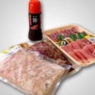 こせどの「肉」スタミナスペシャル(自家製マンゴーたれ付き)