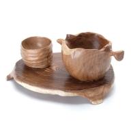 木芸作家たまさんが造る さけ呑みセット