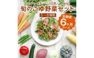 野菜ソムリエが選ぶ<旬のこゆ野菜セット 6ヵ月定期便>【C77】