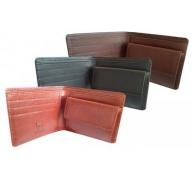 日本製2つ折り革財布(栃木レザー)