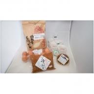 お米(3kg)とご飯のお供詰合せ(米・卵・納豆・味噌・醤油の実)