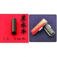 黒水牛10.5mm(5書体)牛革ケース(黒)
