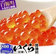 いくら醤油漬(鮭卵)【1kg(250g×2×2)】(29,000円)