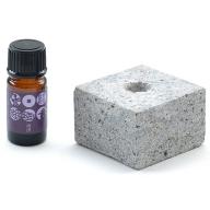 松代柴石フレグランスロック&松代の香りアロマオイル「海津」セット