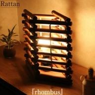 ラタン製照明フロアランプ『ロンバス』<橋之口籐工芸工房> 31-SHR08