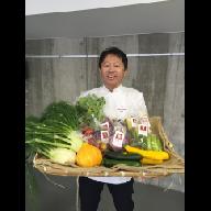 H02 旬のかほくイタリア野菜料理食事券(奥田シェフのお店優先予約)