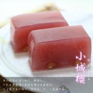 E60-001 村岡総本舗 伝統製法羊羹「小城櫻(おぎざくら)」