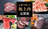 OA-04 お米で育った肉のバラエティ定期便(豊後高田市限定・毎月発送・計4回)