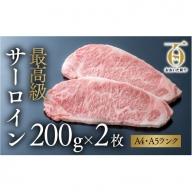 E2-01 おおいた和牛 サーロインステーキ(200g×2枚)