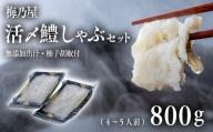 D3-03A 活〆鱧しゃぶしゃぶセット800g(4~5人前)