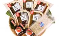 氷見産・富山湾産の昆布じめ刺身てんこもり&地元醤油セット白えび入