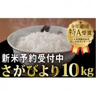 B-434 一等米!!令和元年産 新米さがびより10kg (5kgx2袋)【先行予約】