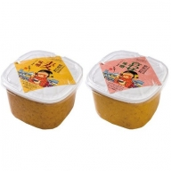 B4-35 昭和の町味噌セット(合わせ味噌2kg・麦味噌2kg)