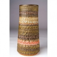 H1-06 木下窯 筒花器