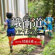 [G032] 能登の里山を縦断「第5回峨山道トレイルラン」【77kmコース】エントリー券(1名分)