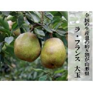 H028 【洋梨の女王】山形のラ・フランス 約2kg