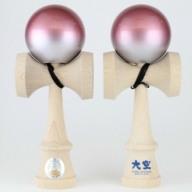 F018 競技用けん玉「大空」 REShape red&silver