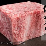 N50-4【佐賀牛サーロインブロック770g】盛り上がる豪華なブロック肉!パーティ料理にも最適!
