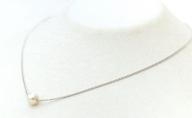 若狭パール 艶々あこや真珠 至宝の7mm一粒ペンダント C