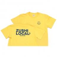 逗子オリジナルTシャツ (ZUSHI LOCAL) イエロー