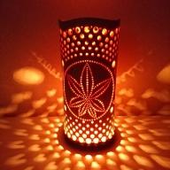 竹あかり カエデB-1(表皮焦がしタイプ) / 行灯 照明 間接照明 天然素材 竹細工