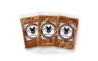 北海道十勝 しのはら精肉店「ほんべつ義経の里 味付きじんぎすかん」3袋セット【G001】