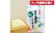 遠州森町産コシヒカリ 精米10kg(5カ月連続お届け)