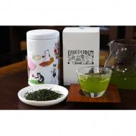ネコ缶とほっこりお茶セット(京都深蒸し茶入)