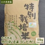 AS04_古河市産特別栽培米コシヒカリ10kg【小久保農園】