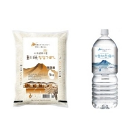 (19000309)【無洗米】東川米「ななつぼし」5kg+水のセット