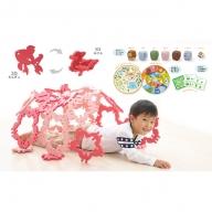 家族で遊べる知育玩具セット(花・きんぎょ)