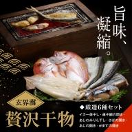 【旨味凝縮】玄界灘の贅沢干物6種セット