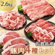 丸福 佐賀県産豚肉(肥前さくらポーク)セット 2.6kg