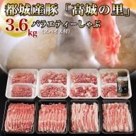 MJ-8409_都城産豚「高城の里」バラエティーしゃぶ3.6kgセット(スパイス付)