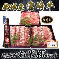 MJ-3102_都城産宮崎牛・都城産「お米豚」セット