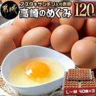 アスタキサンチン入り赤卵「高崎のめぐみ」120個_MJ-6802