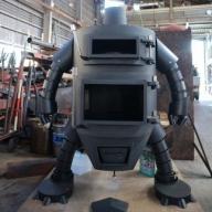 【BA-1】ロボット型薪ストーブ