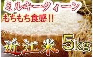 【2年産】近江米 ミルキークイーン 白米【5kg×1袋】【V009SM】