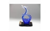 マルティグラス ガラスオーナメント「玻璃の昇竜青龍」[A2102]
