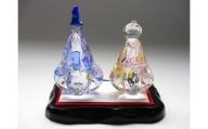 マルティグラス ガラス置物 飾雛 OH-018P[A2109]