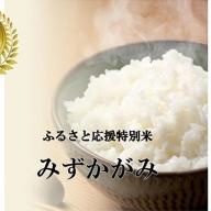 【特Aランク】ふるさと応援特別米みずかがみ(BG無洗米)5kg