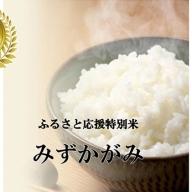 【特Aランク】ふるさと応援特別米 定期配送12回 みずかがみ(BG無洗米)5kg×12ヶ月