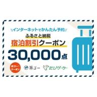 浜松市 旅ゴー!クーポン(30,000点)