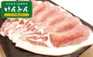 【飛騨・美濃けんとん】けんとん豚ロース焼肉用計1kg