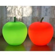 APPLE LIGHT(2個セット:GREEN・RED各1)【防災ライト】
