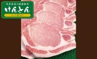 【飛騨・美濃けんとん】けんとん豚ローストンテキ・とんかつ用計1kg