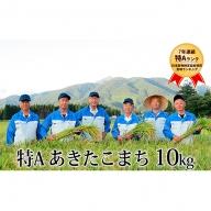 【農家直送『特A』あきたこまち 10kg】精米 令和元年 秋田県仙北市産