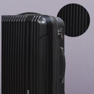 X563 容量拡張機能付スーツケース中型サイズ(ブラック)