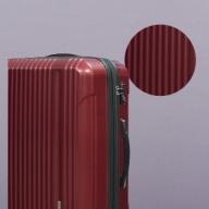 X568 容量拡張機能付スーツケース小型サイズ(レッド)